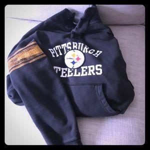 Reebok Old school Pittsburgh Steeler sweatshirt